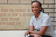 Dr Phathokuhle Zondi (incoming Managing Director of the Sports Science Institute of SA (SSISA)). Image by Greg Beadle