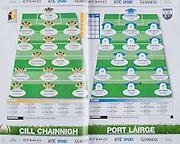 All Ireland Senior Hurling Championship Final, .07092008AISHCF,.07.09.2008, 09.07.2008, 7th September 2008,.Kilkenny 3-30, Waterford 1-13,.Minor Kilkenny 3-6, Galway 0-13,.Kilkenny, 1 PJ Ryan, Fenians, 2 Michael Kavanagh, St Lachtains, 3 Noel Hickey, Dunnamaggin, 4 Jackie Tyrrell, James Stephens, 5 Tommy Walsh, Tullaroan, 6 Brian Hogan, O'Loughlin Gaels, 7 J J Delaney, 8 James Fitzpatrick, Ballyhale Shamrocks, 9 Derek Lyng, Emeralds, 10 Martin Comerford, O'Loughlin Gaels, 11 Richie Power, Carrickshock, 12 Eoin Larkin, James Stephens, 13 Eddie Brennan, Graig Ballycallan, 14 Henry Shefflin, Ballyhale Shamrocks, 15 Aidan Fogarty, Emeralds, ..Waterford, 1 Clinton Hennessy, Ardmore, 2 Eoin Murphy, Shamrocks, 3 Declan Prendergast, Ardmore, 4 Aidan Kearney, Tallow, 5 Tony Brownem Mount Sion, 6 Ken McGrath, Mount Sion, 7 Kevin Moran, De La Salle, 8 Michael Walsh, Stradbally, 9 Jamie Nagle, Dungarvan, 10 Dan Shanahan, Lismore, 11 Seamus Prendergast, Ardmore, 12 Stephen Molumphy, Ballyduff Upper, 13 Eoin McGrath, Mount Sion, 14 Eoin Kelly, Passage, 15 John Mullane, De La Salle,