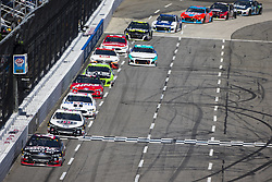 March 27, 2018 - Martinsville, Virginia, United States of America - March 26, 2018 - Martinsville, Virginia, USA: Clint Bowyer (14) races through the field during the STP 500 at Martinsville Speedway in Martinsville, Virginia. (Credit Image: © Chris Owens Asp Inc/ASP via ZUMA Wire)