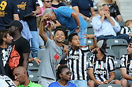Young Juventus fans before during the Champions League Final between Juventus FC and FC Barcelona at the Olympiastadion, Berlin, Germany on 6 June 2015. Photo by Phil Duncan.