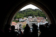A view of Sintra's Castle of the Moors, Portugal. PHOTO PAULO CUNHA/4SEE