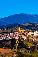 The town of Alhama de Granada, Granada Province, Andalusia, Spain.