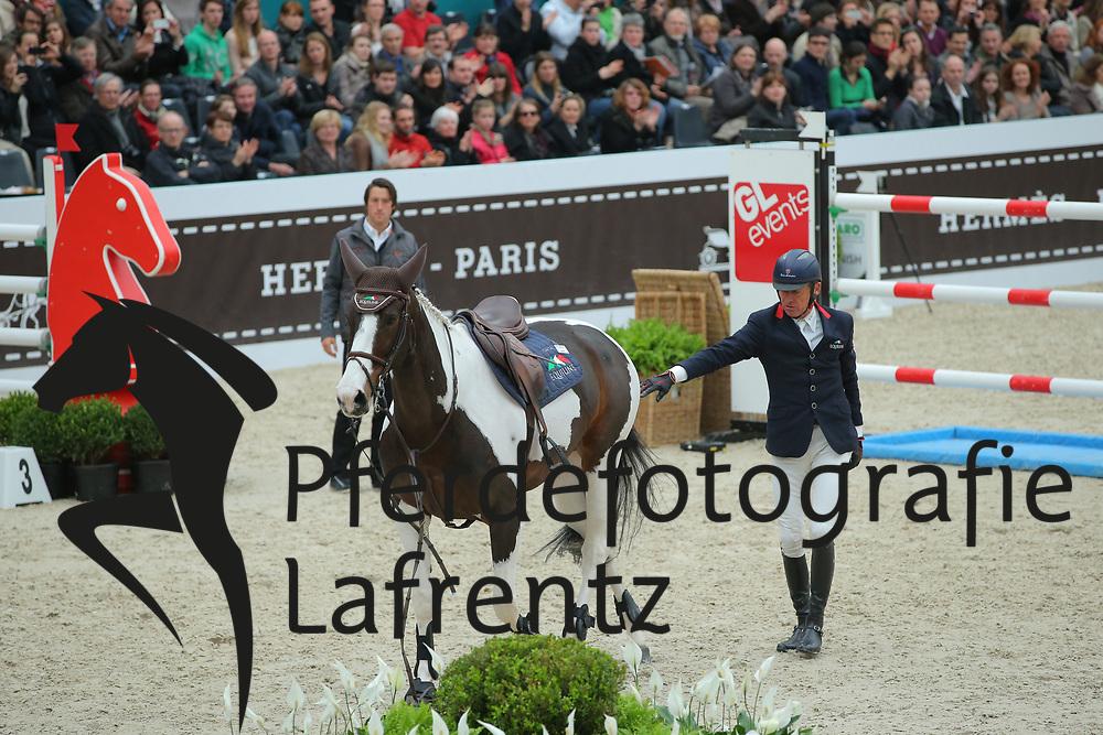 Robert, Michel, Catapulte <br /> Paris - Saut Hérmes 2013<br /> © www.sportfotos-lafrentz.de/Stefan Lafrentz