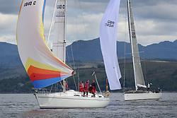 The Silvers Marine Scottish Series 2014, organised by the  Clyde Cruising Club,  celebrates it's 40th anniversary.<br /> Day 1<br /> <br /> 4040C , Lemarac , B.Tunnock , CCC , Moody 38, GBR7745R, Eala of Rhu, J McGarry / C Moore, RNCYC, Swan 45.<br /> <br /> Racing on Loch Fyne from 23rd-26th May 2014<br /> <br /> Credit : Marc Turner / PFM