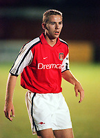 Liam Chilvers (Arsenal) 23/10/2000 Chelsea Reserves v Arsenal Reserves. Credit: Andrew Cowie / Colorsport.