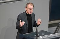 08 NOV 2018, BERLIN/GERMANY:<br /> Markus Kurth, MdB, B90/Gruene, haelt eine Rede, Bundestagsdebatte zum Gesetzentwurf der Bundesregierung ueber Leistungsverbesserungen und Stabilisierung in der gesetzlichen Rentenversicherung, Plenum, Deutscher Bundestag<br /> IMAGE: 20181108-01-014<br /> KEYWORDS: Sitzung
