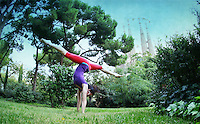 Yogis from all over the world practing yoga in the streets, parks and beaches of Barcelona. <br /> Project sponored by the Barcelona Yoga Conference