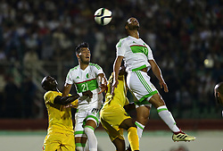 June 6, 2017 - Blida, Algiers, Algeria - Friendly match Algeria vs Guinea at the Mustapha Tchaker stadium in Blida, Algeria, on 6 June 2017. (Credit Image: © Billal Bensalem/NurPhoto via ZUMA Press)