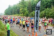 Full and Half Marathon Starts and on course