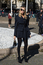 Elena Perminova attending the Miu Miu's Spring-Summer 2016/2017 Ready-To-Wear collection show in Paris, France, on October 5, 2016. Photo by Nicolas Genin/ABACAPRESS.COM