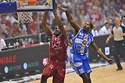 DESCRIZIONE :  Lega A 2014-15  EA7 Milano -Banco di Sardegna Sassari playoff Semifinale gara 7<br /> GIOCATORE : Samuels Samardo<br /> CATEGORIA : Low Schiacciata<br /> SQUADRA : EA7 Milano<br /> EVENTO : PlayOff Semifinale gara 7<br /> GARA : EA7 Milano - Banco di Sardegna Sassari PlayOff Semifinale Gara 7<br /> DATA : 10/06/2015 <br /> SPORT : Pallacanestro <br /> AUTORE : Agenzia Ciamillo-Castoria/A.Scaroni<br /> Galleria : Lega Basket A 2014-2015 Fotonotizia : Milano Lega A 2014-15  EA7 Milano - Banco di Sardegna Sassari playoff Semifinale  gara 7<br /> Predefinita :