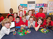 3rd class Claddagh NS at the Galway Education centre's Junior First Lego League at the Radisson Blu hotel. Photo:Andrew Downes, xposure.