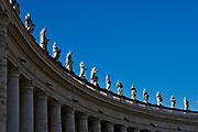 Saint Statues on the Colonnades, St. Peter's Basilica, Vatican City, Rome