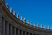 Saint Statues on the Colonnades, St. Peter's Basilica, Vatican City, Rome