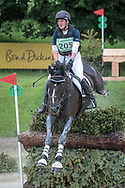 SIMPLY SMART ridden by Hazel Towers taking part in the CIC*** cross country on day three of the Bramham International Horse Trials 2017 at  at Bramham Park, Bramham, United Kingdom on 11 June 2017. Photo by Mark P Doherty.