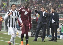 February 18, 2018 - Turin, Italy - Walter Mazzarri during the Serie A match between Torino FC and Juventus at Stadio Olimpico di Torino on February 18, 2018 in Turin, Italy. (Credit Image: © Loris Roselli/NurPhoto via ZUMA Press)
