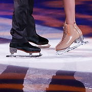 NLD/Hilversum/20130105 - 2de Liveshow Sterren Dansen op het IJs 2013, schaatsen