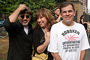 Alirio Guerrero, Christine Oldenbrook & Jack Silbert at Maxwell's Block Party