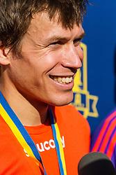 Boston Marathon: BAA 5K road race, Ben True, winner
