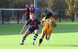Lucie Skuse of Bristol Bears - Mandatory by-line: Paul Knight/JMP - 31/10/2020 - RUGBY - Shaftesbury Park - Bristol, England - Bristol Bears Women v Wasps FC Ladies - Allianz Premier 15s