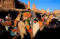 Maroc - Anti Atlas - Taroudant - Souk du Dimanche - Marché