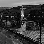 DUR DURIS<br /> <br /> That day, the youngest of three brothers was the last to wake up. It was called Douro and awoke with a start, from a sleep that only do the rivers and, to date, only legends could witness. While the brothers Tejo and Guadiana, could quietly stream down the mountain, choosing softer land and plains, the Douro had to face the hard way, through the rocky canyons of northern Portugal.<br /> Today, these images take the same stony path, perhaps to prevent that the river falls asleep. The construction of large dams tamed the course of the Douro, but in the riverbanks, the legend continues to endure with the eternal confrontation and dialogue that carved the rock, the mountain and the man.<br /> Distant from the route of the river cruises where the water is just one more road, flat, between floodgates. I preferred to embark on a counter-current journey along the Douro and its tributaries (Támega, and Corgo).<br /> <br />  Still life or artificial construction that with time became simple artifice. A journey in search of the humans transformed by the rock and a landscape petrified by the absence of local people.<br /> The course of the river is the only thread of this route without a guide, where the mirror-like waters may be merely a reflection of its inhabitants. Waking up late but waking up on time to track down this river that carved rocks and dilutes people in hard (Duris in Latin) water (Dur in Celtic). <br /> <br /> Douro River.