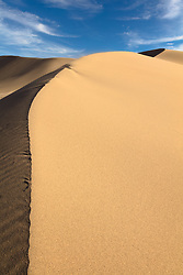 """""""Ibex Dunes 2"""" - Abstract photograph of Ibex Sand Dunes in Death Valley, California."""