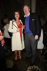 The HON.CHRISTOPHER GILMOUR and his wife MARDI at the Tatler Restaurant Awards, at the Langham Hotel, Portland Place, London n 10th May 2010.