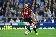Simon Francis of Bournemouth in action. Premier league match, Everton vs Bournemouth at Goodison Park in Liverpool, Merseyside on Saturday 23rd September 2017.<br /> pic by Chris Stading, Andrew Orchard sports photography.