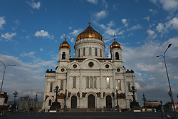 "June 12, 2018 - Moscou, Rússia - MOSCOU, MO - 12.06.2018: GENERAL PICTURES MOSCOW 2018 - Image of the Church of the Christ the Savior on Tuesday (12), national day of ""Russay&Day"". (P: Ro: Ricardo Moreira/ arena) (Credit Image: © Ricardo Moreira/Fotoarena via ZUMA Press)"