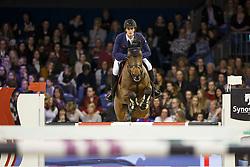 Philippaerts Nicola, (BEL), Challenge vd Begijnakker<br /> Provincie Noord Holland Prijs<br /> Jumping Amsterdam 2016<br /> © Hippo Foto - Dirk Caremans<br /> 31/01/16