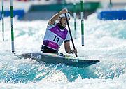 Irelands Liam Jegou.  Slalom heats. Tokyo 2020 Olympic Games. Sunday 25th July 2021. Mandatory credit: © John Cowpland / www.photosport.nz