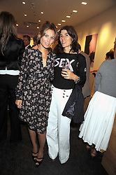 Left to right, SHEHERAZADE GOLDSMITH and BELLA FREUD at the Natural Beauty Honours 2008 hosted by Neal's Yard Remedies, 124b King's Road, London SW3 on 4th September 2008.<br /> <br /> NON EXCLUSIVE - WORLD RIGHTS