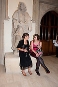 HANNAH WESTLAND; ANNA-MARIE FITZGERALD, Man Booker prize 2011. Guildhall. London. 18 October 2011. <br /> <br />  , -DO NOT ARCHIVE-© Copyright Photograph by Dafydd Jones. 248 Clapham Rd. London SW9 0PZ. Tel 0207 820 0771. www.dafjones.com.