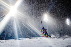 08.01.2019, Hermann Maier Weltcupstrecke, Flachau, AUT, FIS Weltcup Ski Alpin, Slalom, Damen, 1. Lauf, im Bild Mikaela Shiffrin (USA) // Mikaela Shiffrin of the USA in action during her 1st run of ladie's Slalom of FIS ski alpine world cup at the Hermann Maier Weltcupstrecke in Flachau, Austria on 2019/01/08. EXPA Pictures © 2019, PhotoCredit: EXPA/ Johann Groder