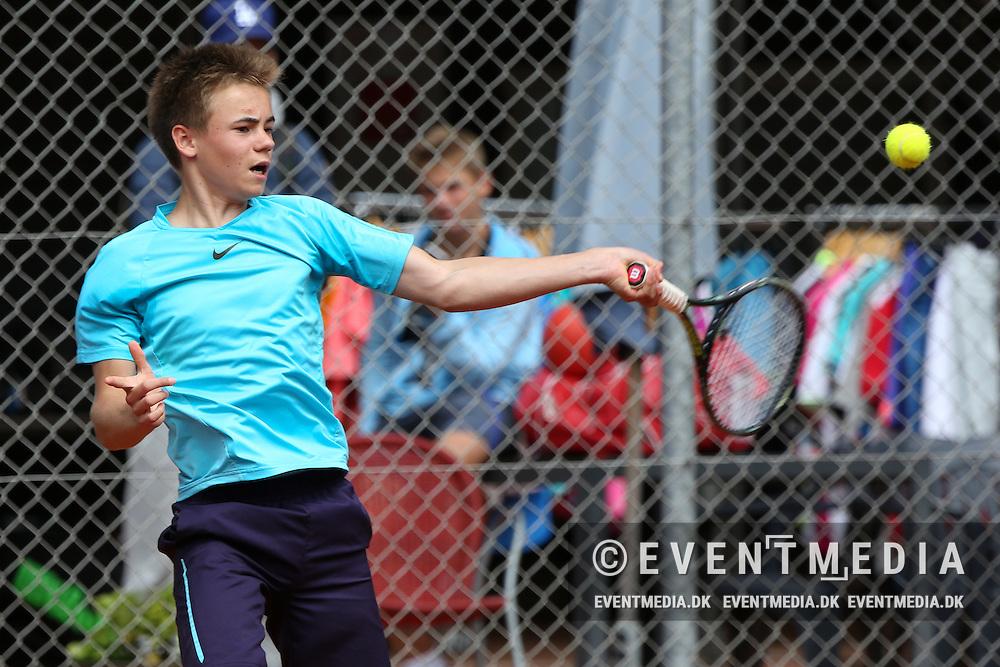 ITF Junior Grade 5 tournament at Aarhus 1900 Tennis Stadion in Aarhus, Denmark, on 21.6.2016. (Allan Jensen/EVENTMEDIA).