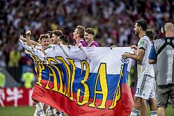 July 1, 2018 - Moscow, Russia - Foto : PONTUS ORRE : Moskva, 2018-07-01 Fotbolls-VM, match 51, Spanien - Ryssland, Luzhniki stadium.      Foto: Pontus Orre (Credit Image: © Orre Pontus/Aftonbladet/IBL via ZUMA Wire)