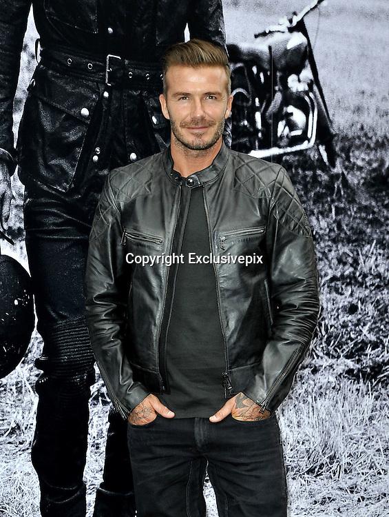 Sept. 9, 2014 - New York City, NY, United States - <br /> <br /> David Beckham for Belstaff<br /> <br /> David Beckham attends the 'Belstaff: Off Road/David Beckham' Book Signing at the Belstaff House on September 9, 2014 in New York City  ©Exclusivepix