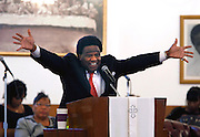 September 17, 2014 - Al Green sings and prays with church members during a recent worship service at his church. Green is the ordained pastor of the Full Gospel Tabernacle church in Memphis. He is among five artists receiving this year's Kennedy Center Honors, the national awards for influencing American culture through the arts.
