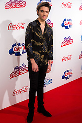 © Licensed to London News Pictures. 03/12/2016. Capital presenter GEORGE SHELLY attends Capital's Jingle Bell Ball with Coca-Cola at London's O2 Arena London, UK. Photo credit: Ray Tang/LNP
