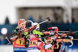 March 16, 2019 - –Stersund, Sweden - 190316  Denise Herrmann of Germany competes in the Women's 4x6 km Relay during the IBU World Championships Biathlon on March 16, 2019 in Östersund..Photo: Petter Arvidson / BILDBYRÃ…N / kod PA / 92268 (Credit Image: © Petter Arvidson/Bildbyran via ZUMA Press)