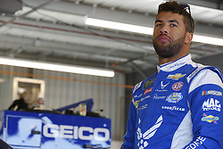 November 10, 2018 - Avondale, Arizona, U.S. - Darrell Wallace, Jr (43) hangs out in the garage during practice for the Can-Am 500(k) at ISM Raceway in Avondale, Arizona. (Credit Image: © Chris Owens Asp Inc/ASP)