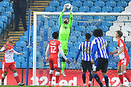 Bartosz Bialkowski during the EFL Sky Bet Championship match between Sheffield Wednesday and Millwall at Hillsborough, Sheffield, England on 7 November 2020.