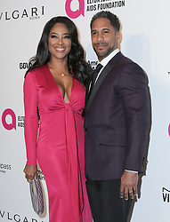 March 4, 2018 - U.S. - 04 March 2018 - West Hollywood, California - Kenya Moore, Marc Daly. 26th Annual Elton John Academy Awards Viewing Party held at West Hollywood Park. Photo Credit: PMA/AdMedia (Credit Image: © Pma/AdMedia via ZUMA Wire)