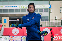 September 1, 2017 - Toronto, Ontario, Canada - Maxime Crépeau during open training session conference in Toronto before the Canada-Jamaica Men's International Friendly match at BMO Field in Toronto Canada September 2, 2017  (Credit Image: © Anatoliy Cherkasov/NurPhoto via ZUMA Press)