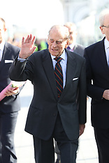 Brighton Prince Philip Rides Vertical Cable Car - 28 Oct 2016