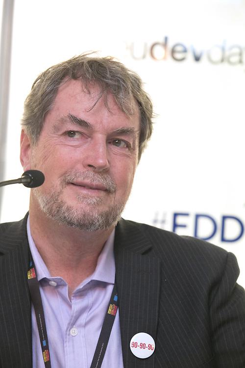 03 June 2015 - Belgium - Brussels - European Development Days - EDD - Health - Shared responsibility for the right to health in the post-2015 agenda - Peter Hill<br /> Professor , University of Queensland , Australia © European Union