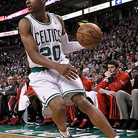 10 May 2012: Boston Celtics shooting guard Ray Allen (20) is seen during the Boston Celtics 83-80 victory over the Atlanta Hawks, in Game 6 of the Eastern Conference first-round playoff series, at the TD Banknorth Garden, Boston, Massachusetts, USA.