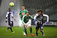 Francois Clerc - 28.02.2015 - Toulouse / Saint Etienne - 27eme journee de Ligue 1 -<br />Photo : Manuel Blondeau / Icon Sport