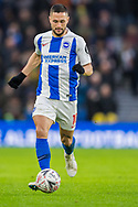 Florin Andone (Brighton) during the FA Cup fourth round match between Brighton and Hove Albion and West Bromwich Albion at the American Express Community Stadium, Brighton and Hove, England on 26 January 2019.